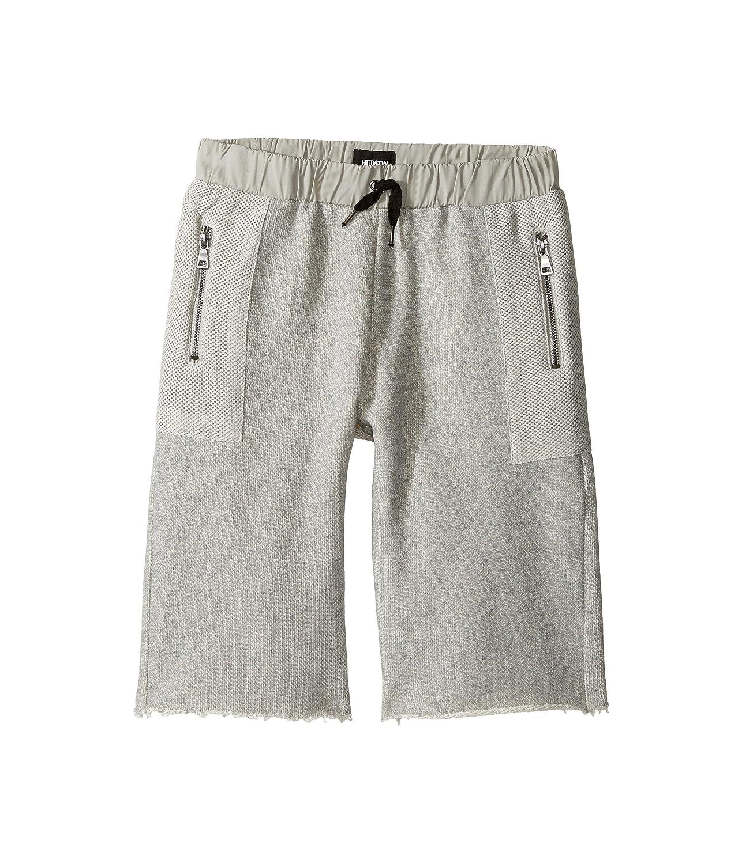 [ハドソン] Hudson Kids ボーイズ High Tech French Terry Shorts in Charcoal (Big Kids) パンツ [並行輸入品]