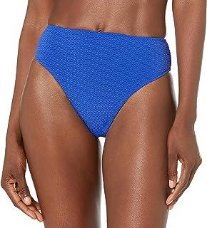 Seafolly womens Seafolly Women's Hi Rise Cheeky Coverage Hi Leg Bikini Bottom Bikini Bottoms