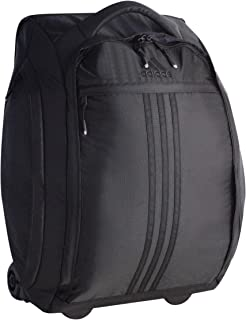Unisex Duel 21-inch Wheel Bag, Black, ONE Size
