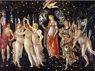 Sandro Botticelli La Primavera Extra Large Art Print Wall Mural Poster Premium XL 砂大アート壁ポスター