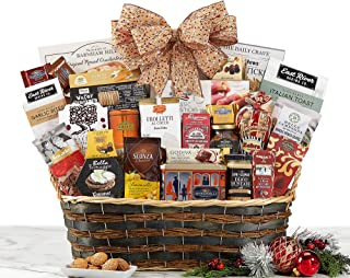 Token of Appreciation Grand Gourmet Gift Basket Holiday Gift Basket For Him & Her