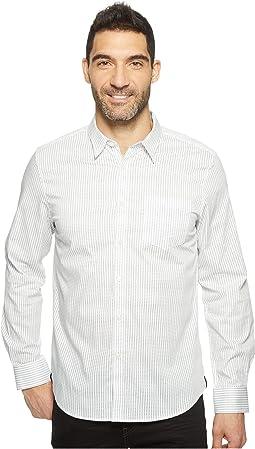 Long Sleeve Diamond Print Shirt