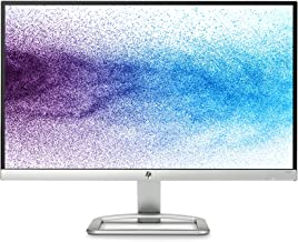 HP T3M72AA Full HD 1080p IPS LED Monitor with Frameless Bezel and VGA & HDMI -21.5-Inch, Silver