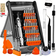 Jetfix Precision IT Screwdriver Set + Magnetic & Auto-Stand kit – Drone/Computer/Watch/Cell Phone/PC/Laptop/Glasses/iPad/MacBook/iMac, iPhone/Tablet/Jewellers/DJI for Office & Home - 57pc