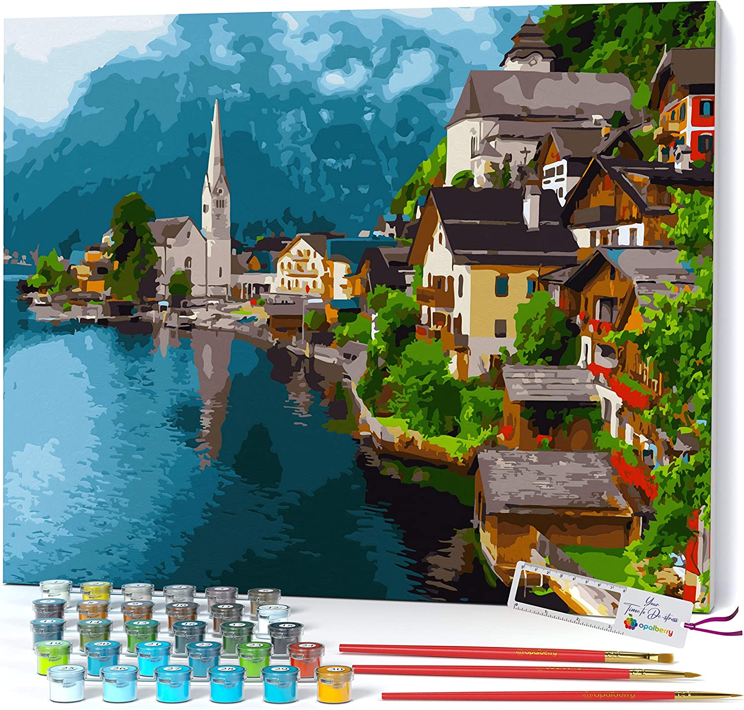 Opalberry Paint by Ranking TOP4 Numbers for Adults' - Adults Paint-by- New Free Shipping Framed