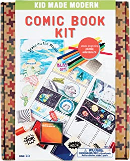 Kid Made Modern Comic Book Kit – Kids Arts and Crafts Toys, Storytelling For Kids