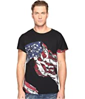 Just Cavalli - American Flag T-Shirt