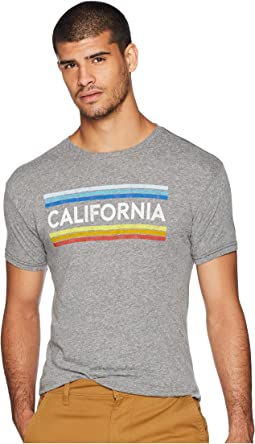 Vintage California Stripe Tri-Blend Tee