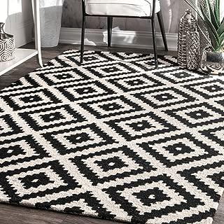 nuLOOM 200MTVS174A-76096 Kellee Contemporary Wool Rug, 7' 6