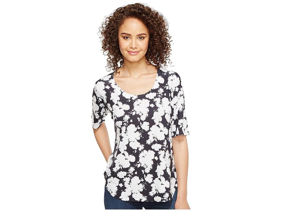 Nally & Millie Elbow Sleeve Tee (Multi) Women's T Shirt