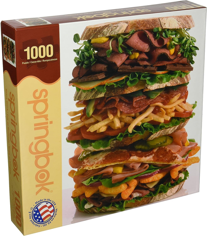 Springbok 83,8–26.903,7 cm Snack Stack Puzzle (1000 Teile) B00JFDJXJM Einfach zu spielen, freies Leben  | Realistisch