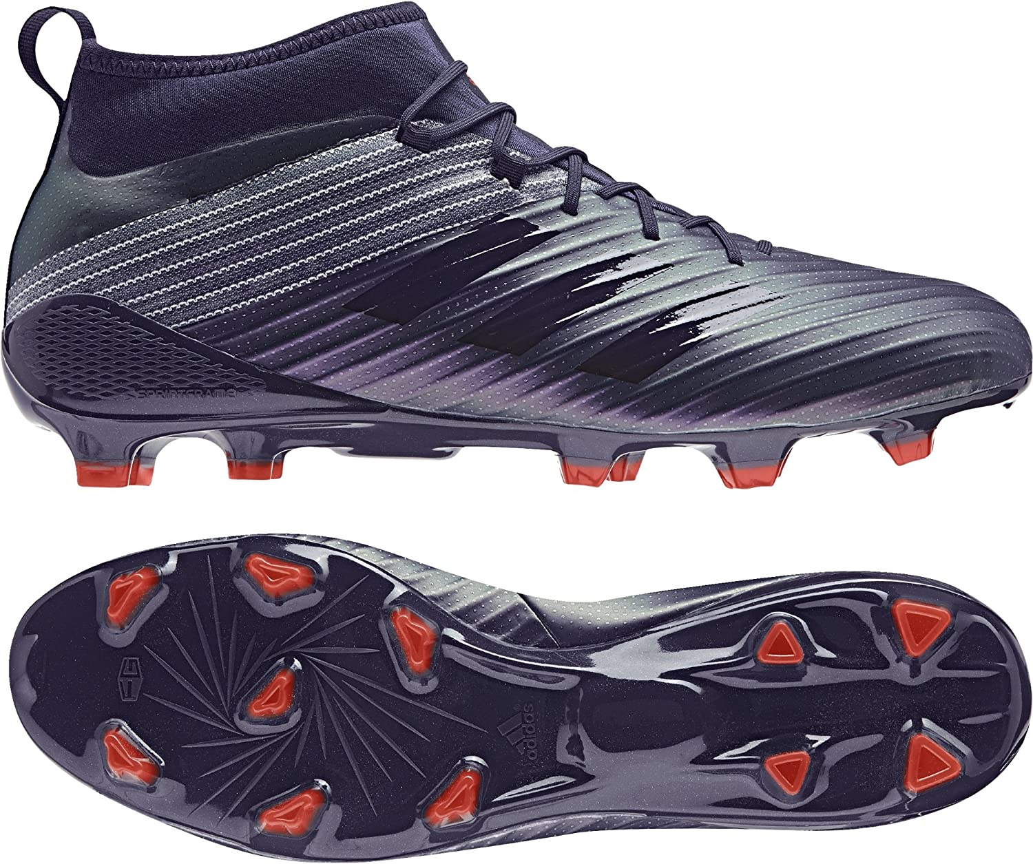 Adidas Performance Mens Predator Flare FG Rugby Boots -Noble Ink