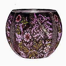 Kerzenfarm Glowing Glass in a William Morris Design