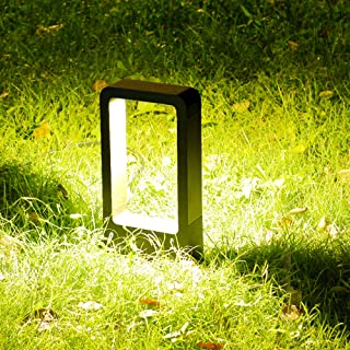 CNBRIGHTER LED Landscape Path Lights,10W CREE Chip,Orient Gate Waterproof Aluminum Outdoor Gardern Accent Pathway and Spread Area Lighting,Warm White (1 ft / 30cm Height)