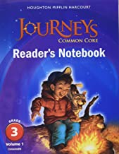 Journeys: Common Core Reader's Notebook Consumable Collection Grade 3(Volume 1 and 2)