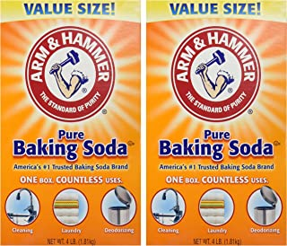 Arm & Hammer Baking Soda-4LB (01170) (Pack of 2)