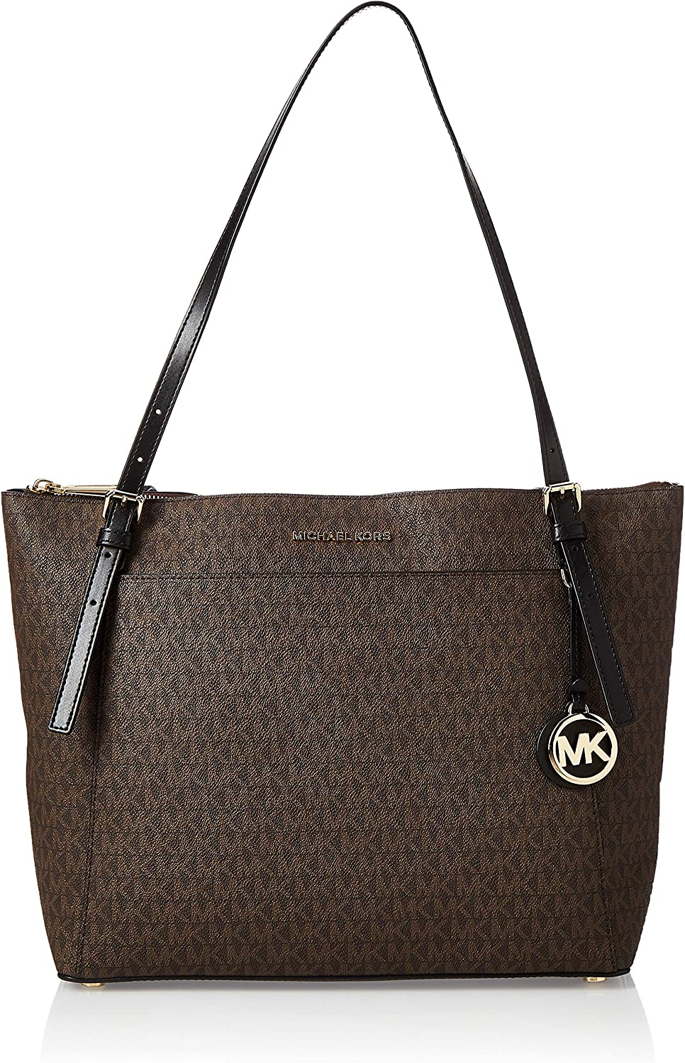 Michael Kors Voyager Ladies Large Two 30F9G Tone Max 62% OFF Tote Beauty products Canvas Bag