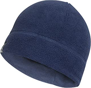 Temple Tape Tactical Fleece Watch Cap Beanie – Skull Cap Fleece Hat - Mens & Women