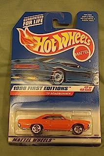 Hot Wheels Mattel 1998 First Editions 1:64 Scale Orange 1970 Roadrunner Die Cast Car #017