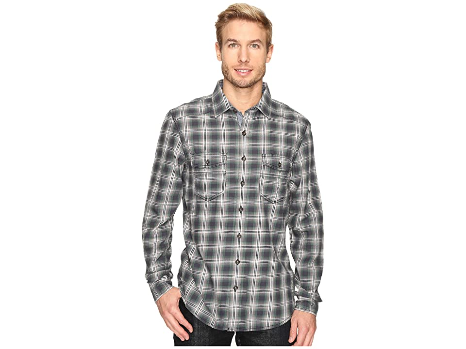 Ecoths Dax Long Sleeve Shirt (Ash) Men
