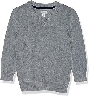 Gymboree Boys' Big Long Sleeve V-Neck Uniform Sweater