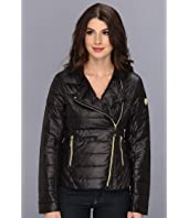 Vince Camuto - Asymmetrical Stand Collar Down Jacket