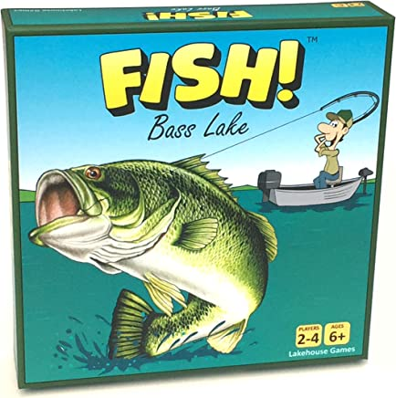 Fish! Bass Lake - Fishing Board Game - First Edition (2018)