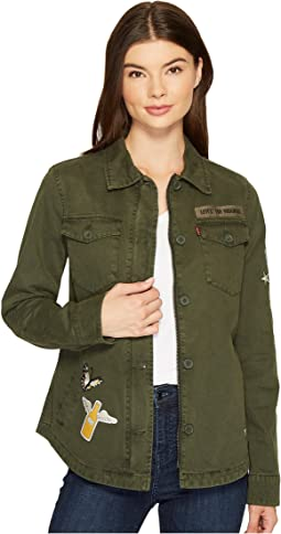 Levi's® - Two-Pocket Shirt Jacket with Patches