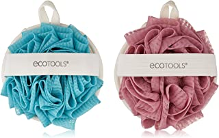 EcoPouf Dual Cleansing Pad, 4 Count