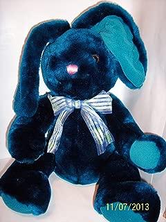 Bunny Rabbit Blue Plush 17