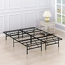 Simple Houseware 14-Inch Queen Size Mattress Foundation Platform Bed Frame, Queen