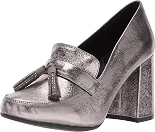 Kenneth Cole REACTION Women's Happy Change Dress Pump with Tassel Detail Metallic