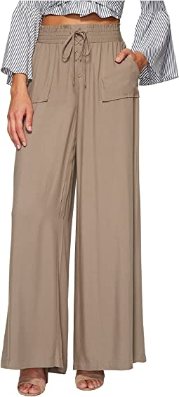 Jack by BB Dakota - Montero Rayon Twill Wide Leg Pants