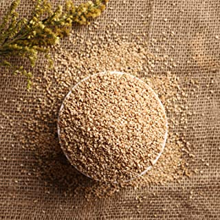Sponsored Ad - VeeDInt Sesame Seed Whole, 1.1 lb Pack, Natural, Vegan, White, Raw, Premium Quality Indian Origin, Free Mea...
