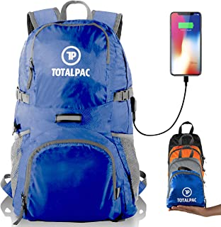 Totalpac Lightweight Foldable Packable Backpack - Perfect Daypack for  Traveling   Camping - Small Hiking Backpack 7ab48dc2458fe