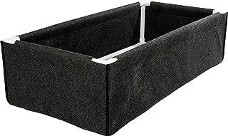 Hydrofarm HGDPB2X4 Dirt Pot Box, 2x4, Black
