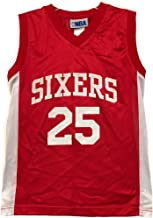 Outerstuff NBA Boys Youth 8-20 Player Name & Number Mesh Player Jersey (Youth X-Large 18-20, Philadelphia 76ers Ben Simmons Red)