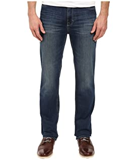 Straight Leg Jean in Authentic Blue Wash