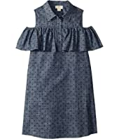 Kate Spade New York Kids - Cold Shoulder Ruffle Dress (Little Kids/Big Kids)