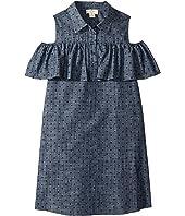 Kate Spade New York Kids - Cold Shoulder Ruffle Dress (Little Kids/Big Kids)