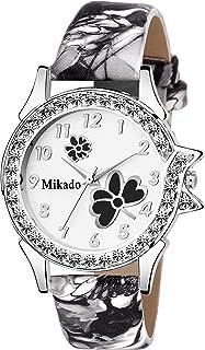 f71b2bf0d Mikado Girl s Fashion Life Style Analogue Watch Off White