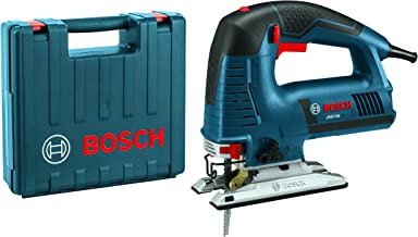 Bosch Power Tools Jigsaw Kit - JS572EK - 7.2 Amp Corded Variable Speed Top-Handle Jig Saw Kit with Assorted Blades and Car...