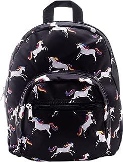Mini Backpack - Unicorn - Black