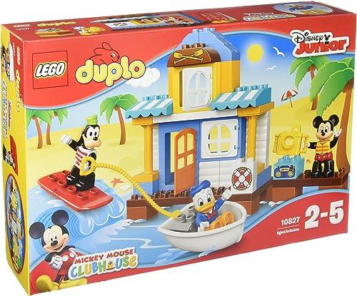 LEGO DUPLO Disney - La maison à la plage de Mickey et ses amis - 10827 - Jeu de Construction