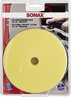 SONAX ExzenterPad medium 165 DA (1 Stück) Verwendung im letzten Arbeitsschritt zum Hochglanzfinish | Art Nr. 04935000