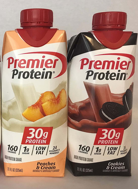 Premier Protein High Shakes - trust Free shipping Cooki 6 Cream Peaches