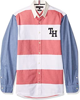 TOMMY HILFIGER MW0MW08553-902 Camisa Casual para Hombre