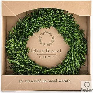 Best artificial evergreen wreath Reviews