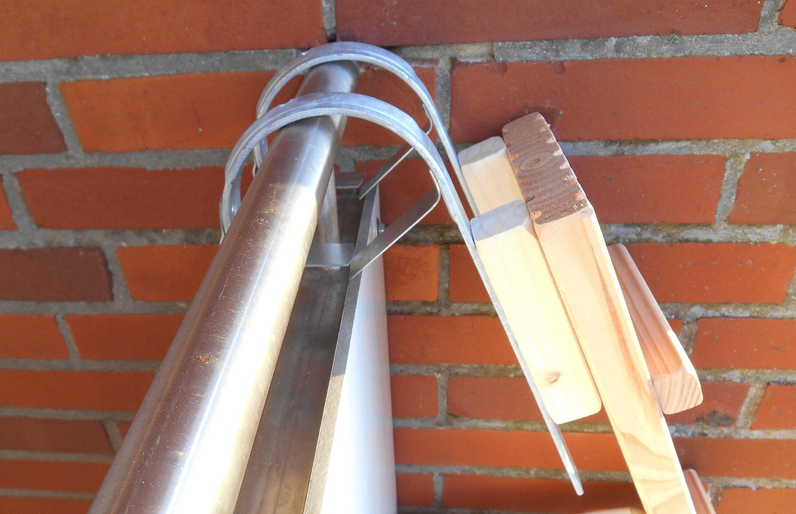 1 metro. Gato Escalera/Gato Escaleras, para balcón. Gato Muebles, con gr. planchado. Douglasie (3201 a): Amazon.es: Productos para mascotas