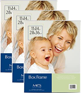 MCS 11x14 Inch Box Frame, 3pk, Clear (65713)